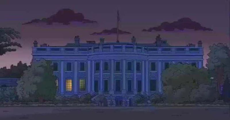 George Floyd protests: Did 'The Simpsons' predict White House ...