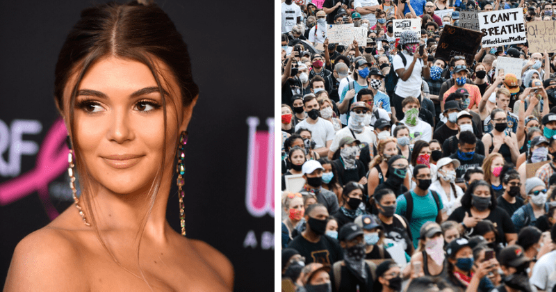 Lori Loughlin's daughter Olivia Jade called 'tone-deaf' for comments on white privilege amid college scandal