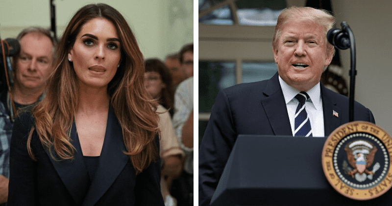 Hope Hicks was behind Trump's church photo op where peaceful protesters were forcibly removed in DC: Report