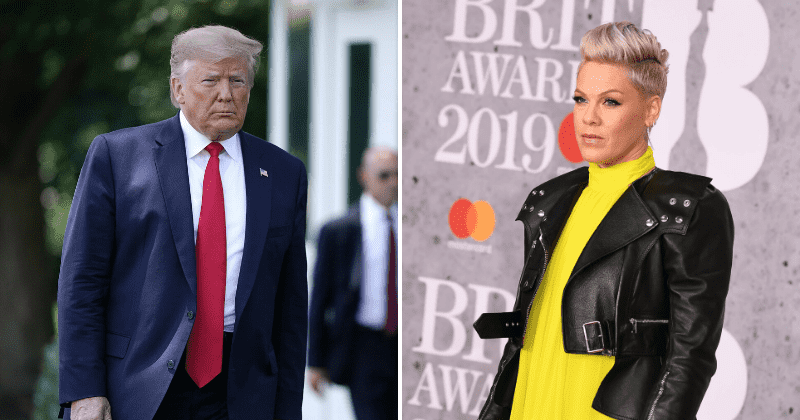 Pink calls Trump supporters hypocrites, says they don't even know the 'meaning of patriotism'
