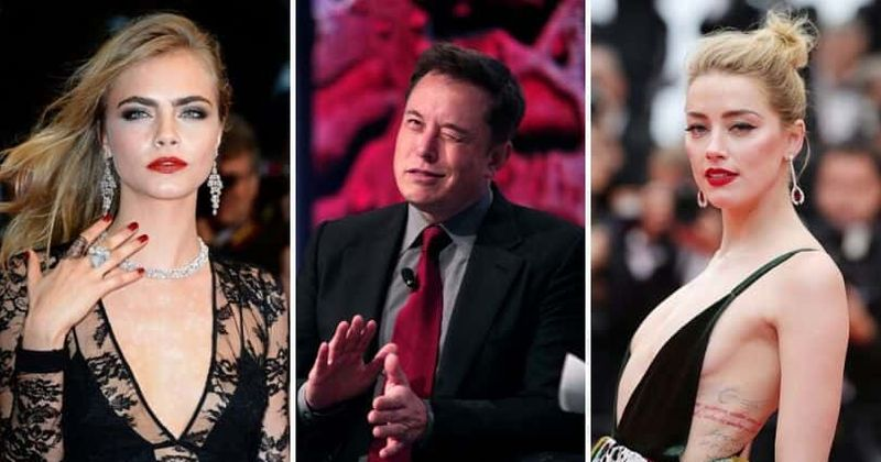 Alleged Amber Heard Cara Delevingne And Elon Musk Sex Fest Has