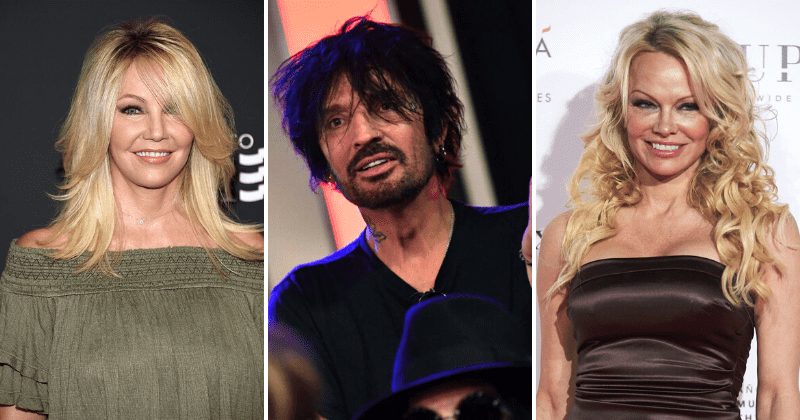 Tommy Lee Hangs Up On Radio Show When Asked Who Among Exes Heather Locklear Pamela Anderson Was Best In Bed Meaww