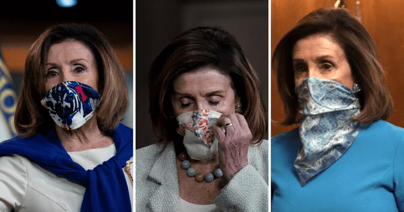 Covid-19 fashion: Nancy Pelosi beats Melania and Ivanka Trump at ...