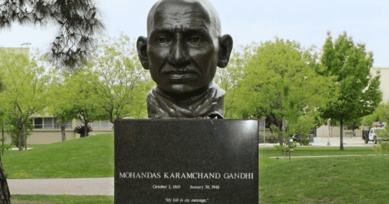 Fresno varsity students seek removal of Gandhi statue, says he was deeply prejudiced against minorities