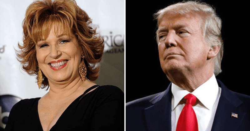 Trump Tower is 'hideous' while Black Lives Matter symbol will improve Fifth Avenue, angry Joy Behar slams POTUS