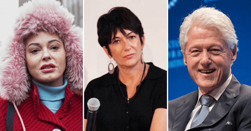 Rose McGowan calls for Bill Clinton's arrest after Ghislaine Maxwell is charged with sex trafficking minors
