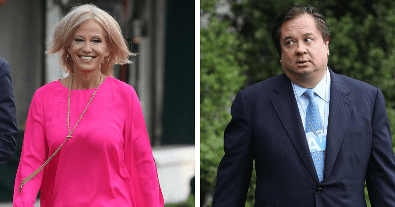 Kellyane Conway to fill a divorce form