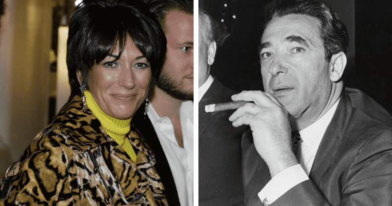 Ghislaine Maxwell's father Robert couldn't stand the thought of being jailed but showed 'shades of Epstein'