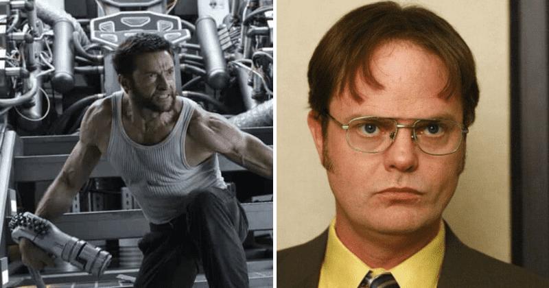 Hugh Jackman thinks 'The Office' star Dwight looks 'hot ...