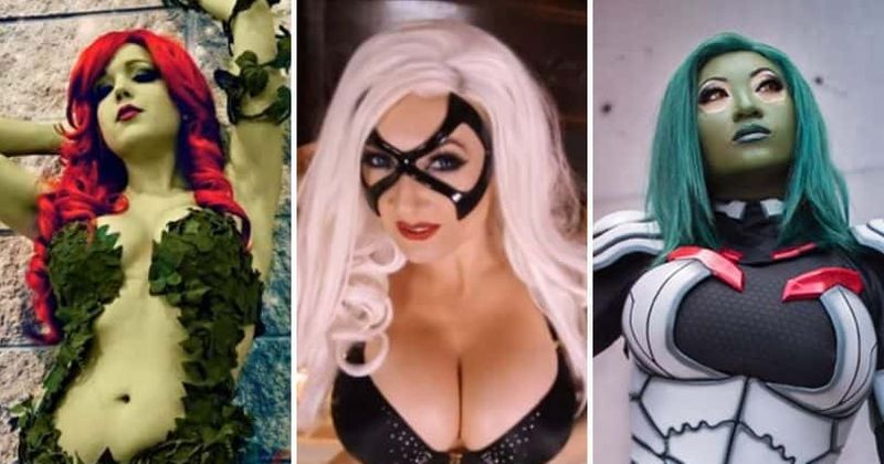 Hot girls in gosplay Comic Con 2020 Here Are The 10 Hottest Cosplay Models You Should Be Following On Instagram Meaww