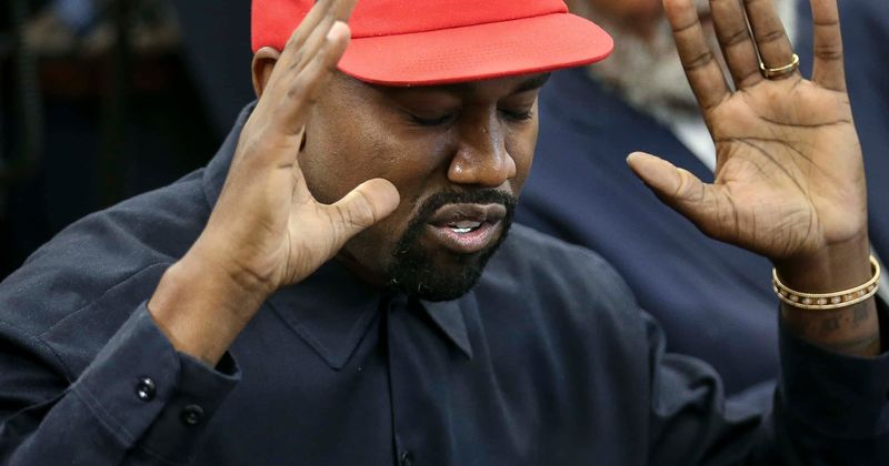 Kanye West's political slogan: Internet calls rapper young Trump and tells him to 'Take it Yeezy'