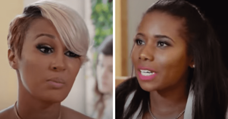 'Love and Marriage: Huntsville': Melody has 'loose cannonball' LaTisha thrown out of her event
