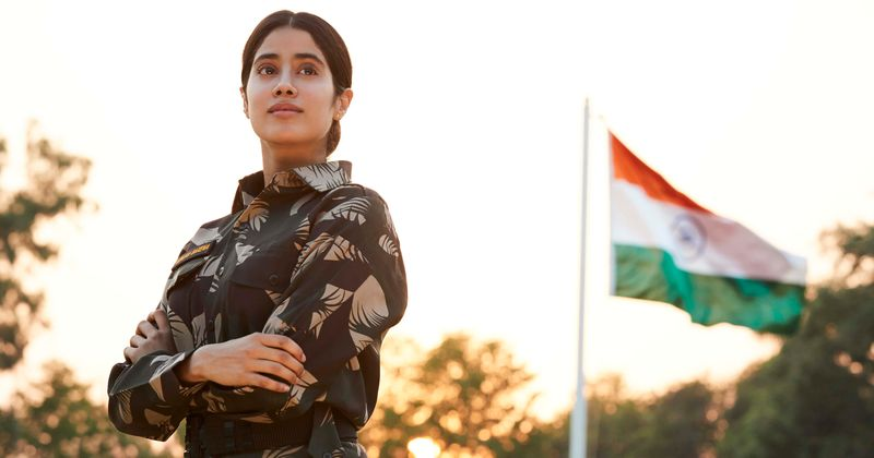 Gunjan Saxena The Kargil Girl Release Date Plot Cast Trailer And All You Need To Know About The War Drama Film On Netflix Meaww