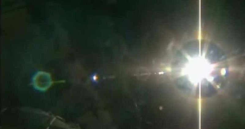 Is NASA covering up a UFO near the International Space Station? Object that glows and moves 'spotted' by eyewitness