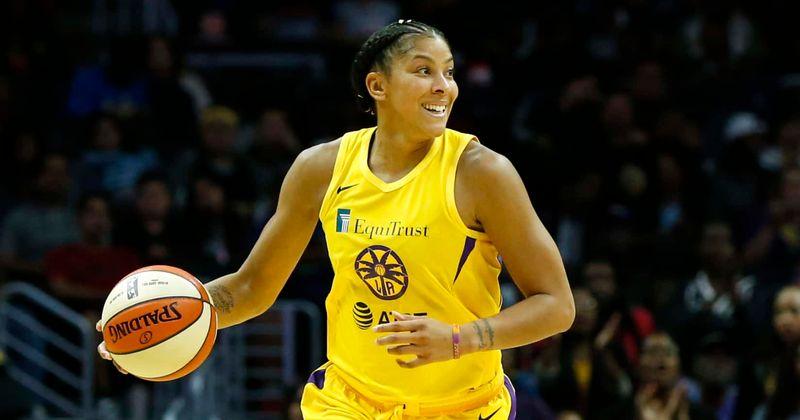 Candace Parker is playing basketball and hosting postgame show on TNT, fans pour love for their 'dream girl'