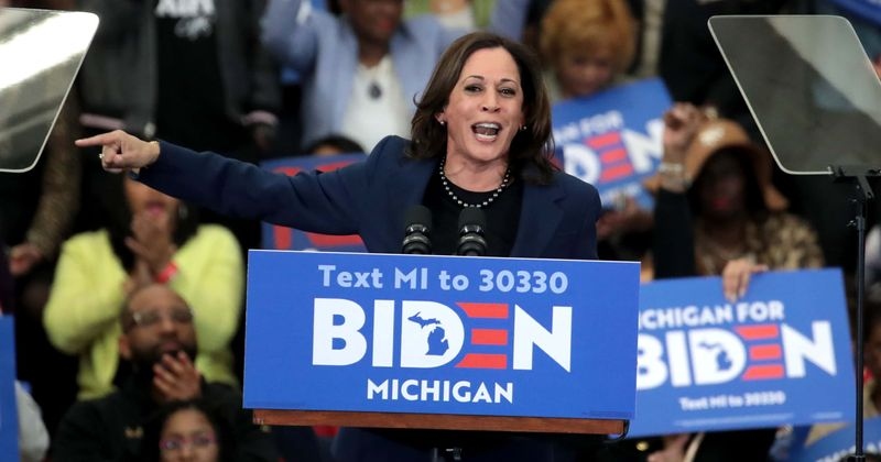 'Momala' trends as Kamala Harris, Biden enthrall supporters with 1st speech as running mates, attacking Trump