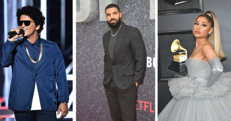 Will Drake go with Bruno Mars or Ariana Grande? Singer teases new single, fans hope they get 'Drakiana' collab