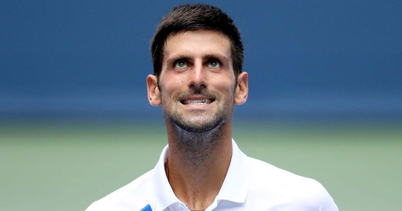 Us Open Novak Djokovic Disqualified For Hitting Lineswoman With Ball Internet Claims It Was An Accident Meaww
