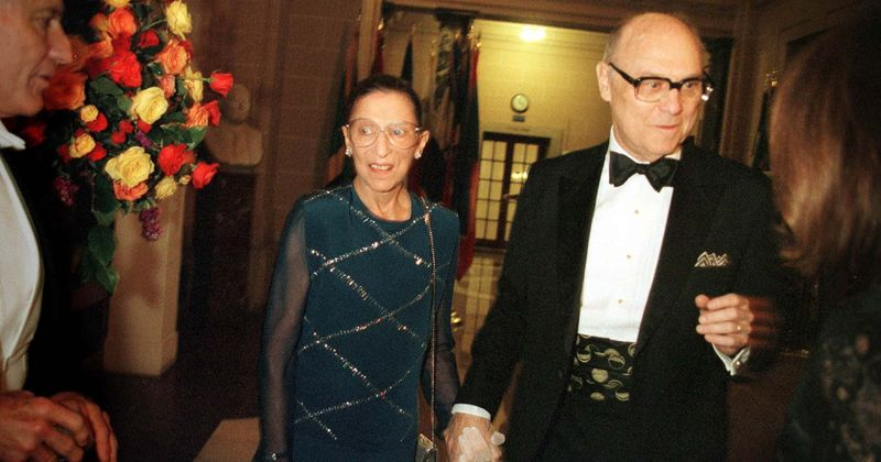 Ruth Bader Ginsburg and husband Martin D's love story: How a blind date blossomed into lifetime of togetherness