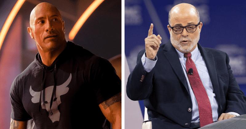 Dwayne 'The Rock' Johnson slammed for being centrist yet endorsing Biden, Fox News' Mark Levin labels him 'clown'