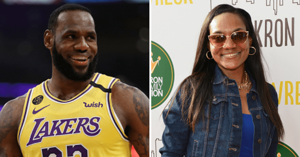 Who is LeBron's mother Gloria Marie James? NBA star ...