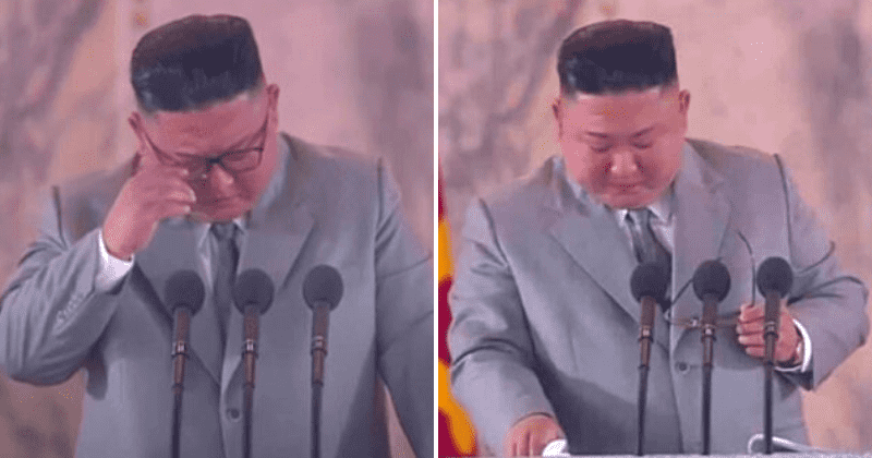 Kim Jong-un's tearful apology to North Koreans shows he fears being overthrown by enraged masses, says expert