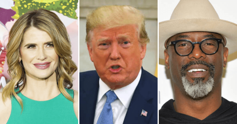 Trump vs Hollywood: Kristy Swanson, Isaiah Washington among celebs who slam 'hypocritical' hatred of POTUS