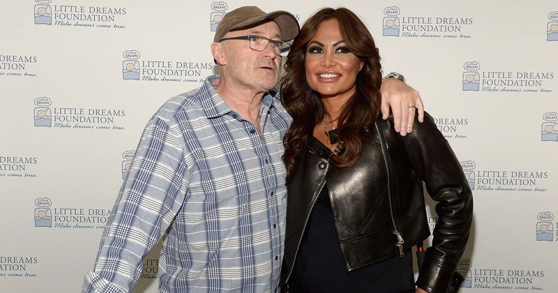 Phil Collins's ex-wife Orianne Cevey dumped him over text, years after he split with second wife over fax