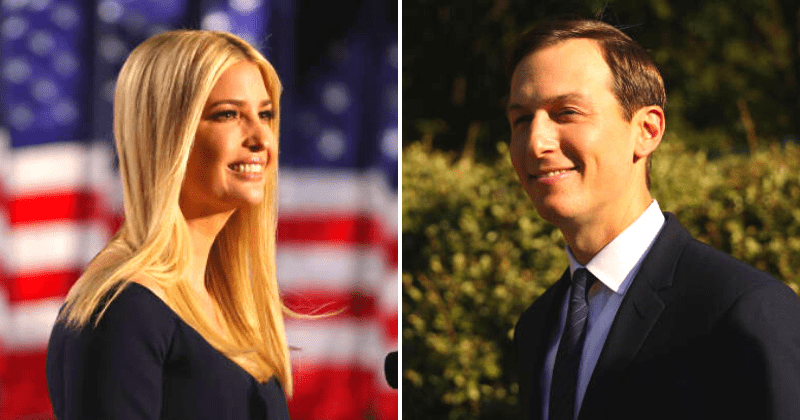 Ivanka calls Jared Kushner party pooper after Trump son-in-law merely clapped while POTUS danced to 'YMCA'