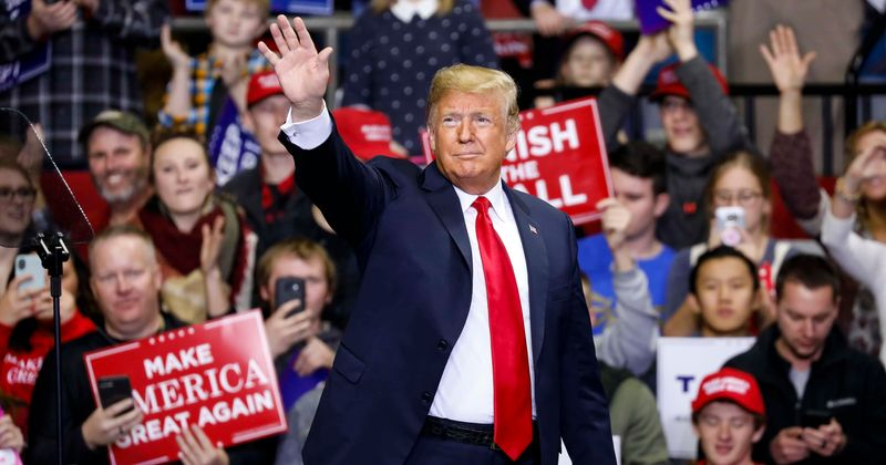 Trump loses his voice at Arizona rally, says Covid-19 'didn't feel too great' but he 'didn't like to admit that'