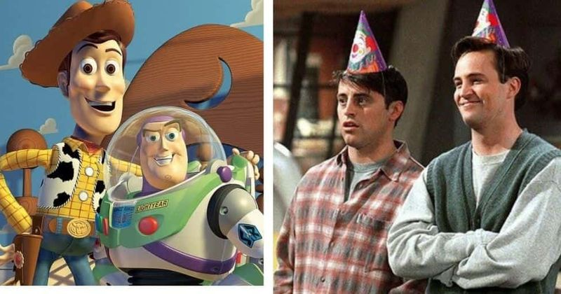 Top 10 Hollywood's highest-earning duos: Chandler-Joey from 'Friends' to Woody-Buzz Lightyear from 'Toy Story'
