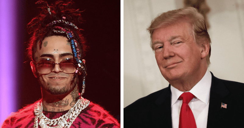 Lil Pump follows rapper 50 Cent in supporting Trump over Biden's tax plan, Internet says 'time to unfollow'