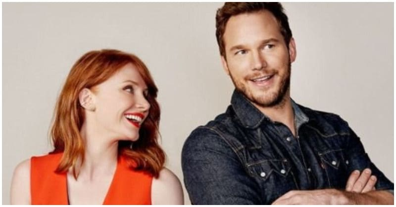 There's something about Chris Pratt and Bryce Dallas Howard