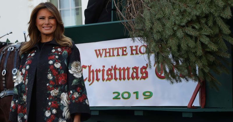 Melania Trump slammed as 'Mrs I Hate Christmas' after Twitter