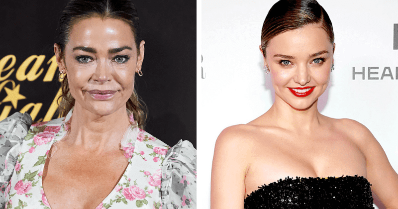Who has the perfect boobs in the world? Denise Richards and Miranda Kerr top list based on 'golden ratio'