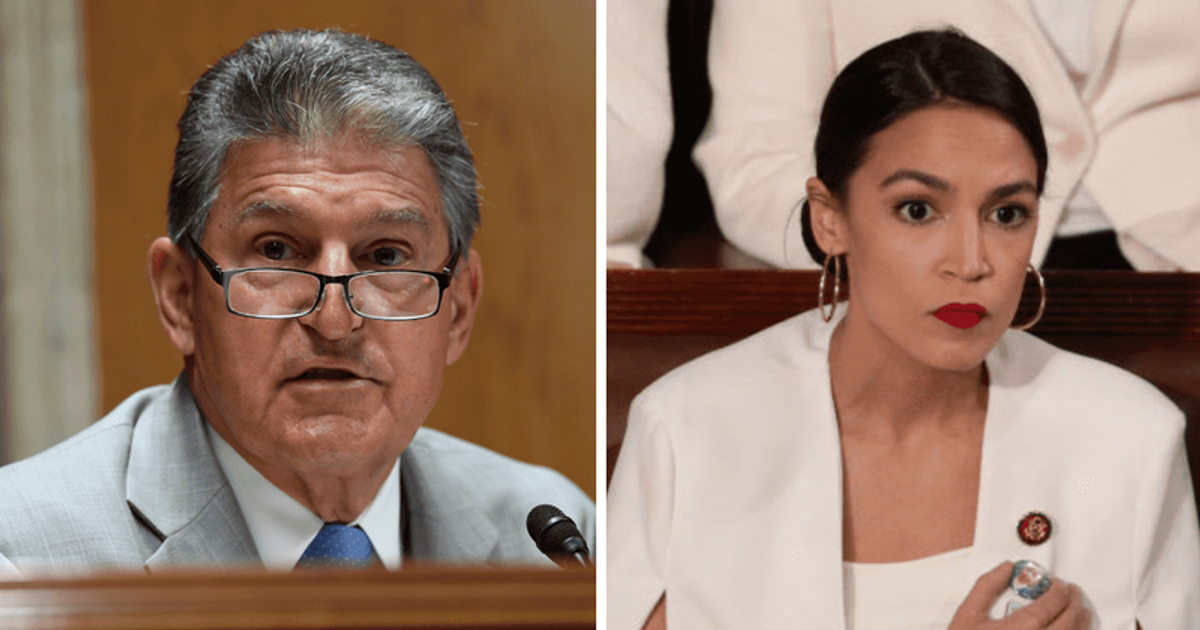 Joe Manchin says AOC is 'more active on Twitter' and not in committee after  she disagrees with his views   MEAWW