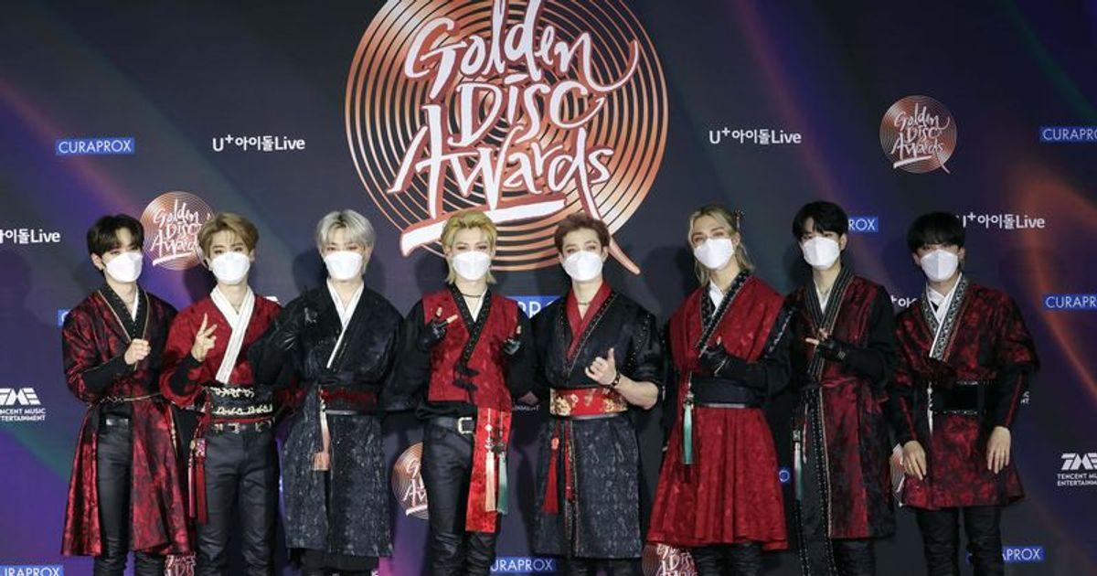 Golden Disc Awards 2021 Red Carpet looks: BTS, Stray Kids ...