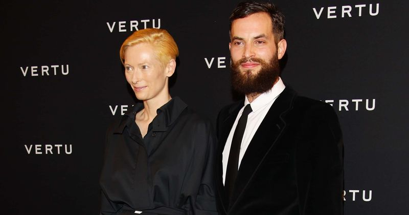 Will Tilda Swinton S Queer Identity Affect Relationship With Sandro Kopp Couple Gets Even More Unconventional Meaww