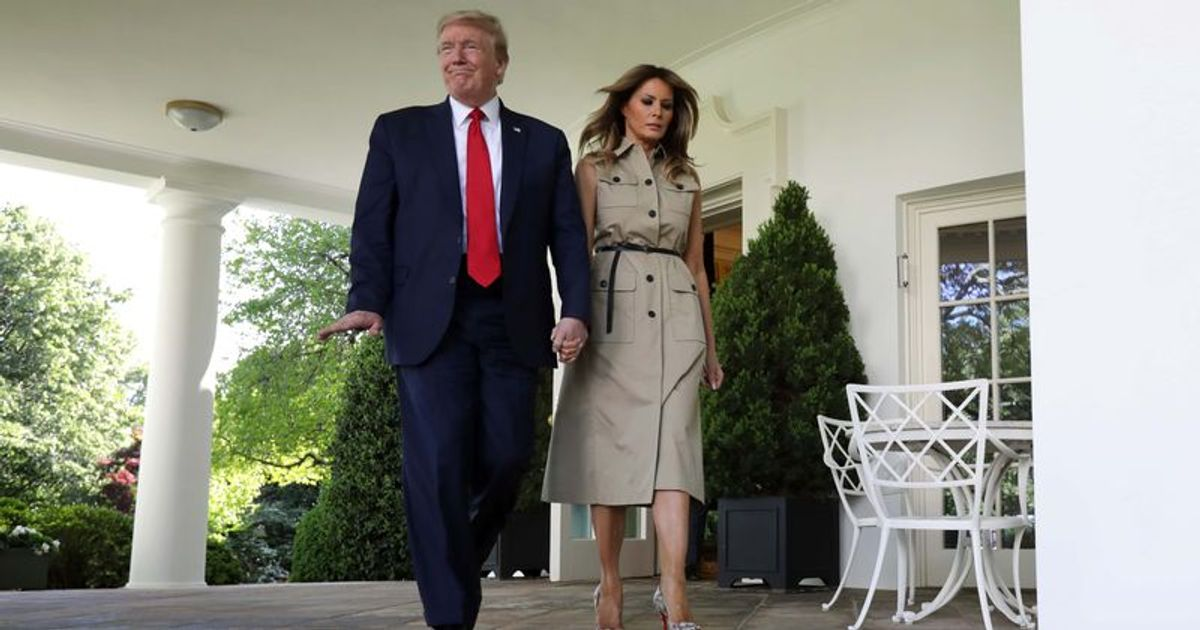 meaww.com: From renovating bathrooms to Rose Garden installations: Melania Trump applies the gloss to White House 'legacy'