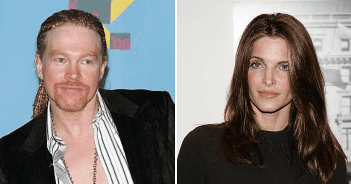 Where Are Axl Rose And Stephanie Seymour Now A Look At The Singer And Model S Short Lived Engagement Meaww