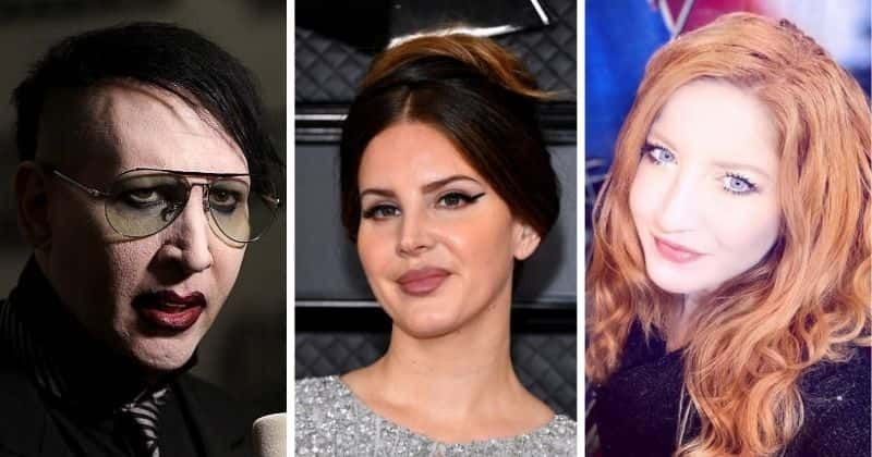 Did Marilyn Manson Body Shame Lana Del Rey Annie Abrams Alleged Messages Say He Called Her Lasagna Del Ray Meaww