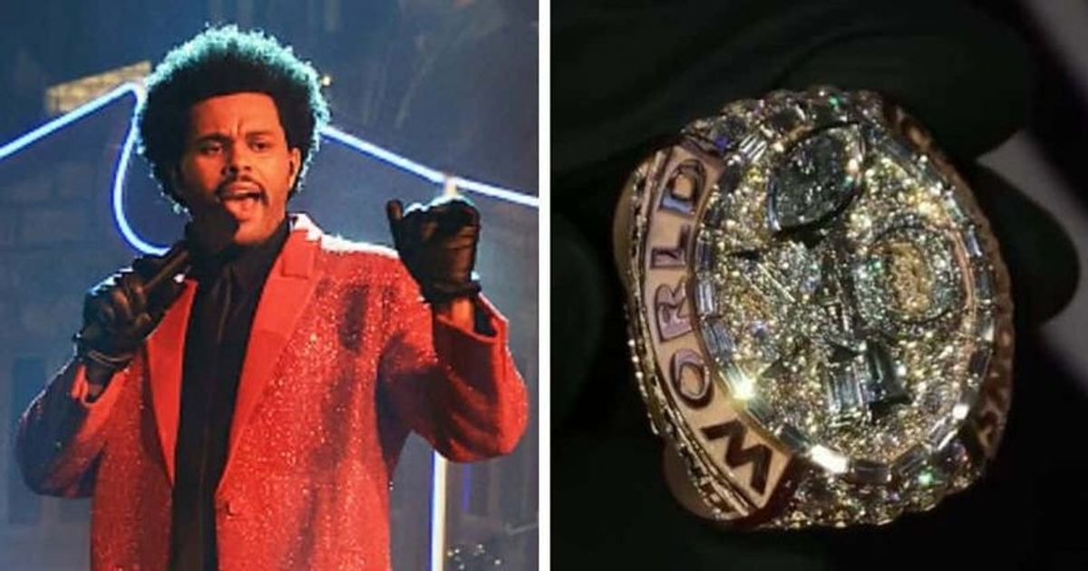 What Is The Cost Of The Weeknd S Diamond Super Bowl Ring Internet Says His Halftime Show Doesn T Deserve It Meaww