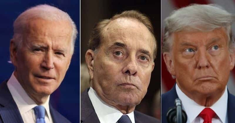 Donald Trump trolled after Biden visits old friend Bob Dole post cancer diagnosis: 'Trump wouldn't visit dead soldiers'