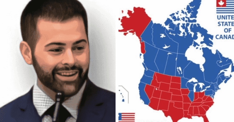 What is Jesusland? Gab CEO Andrew Torba posts hypothetical US map, Internet says 'even Jesus won't be welcome'
