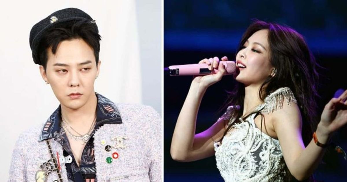 What Is Jennie And G Dragon S Age Difference Newest K Pop Couple Slammed After Heechul And Momo S 13 Year Age Gap Meaww