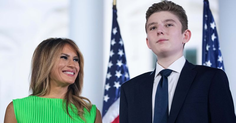 Will Barron Trump pursue a career in sports? POTUS 45's youngest son has all he needs to become a soccer star