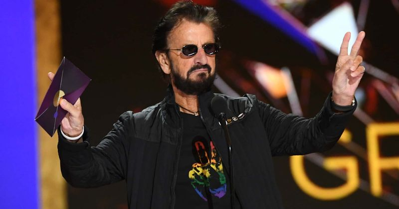 <br />                             Ringo Starr or Al Pacino? Beatles drummer sparks age debate after Billie Eilish award: 'Looks 25 years younger'