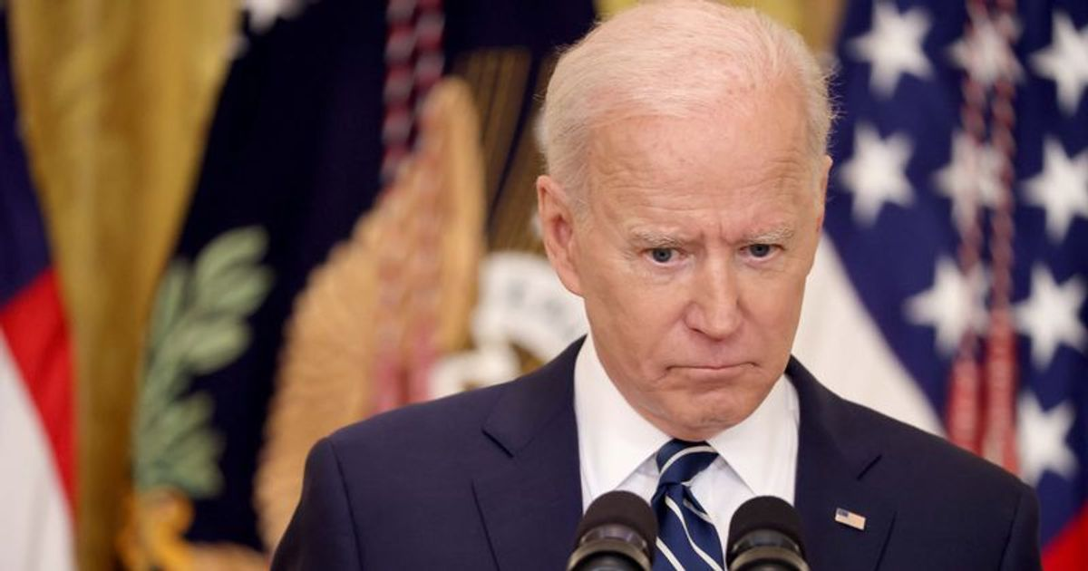 Dementia Joe' trends again as Biden goofs up despite using 'cheat sheets' for his first press conference | MEAWW