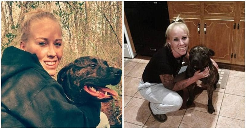 22-year-old woman found mauled to death in the woods by her own pitbulls