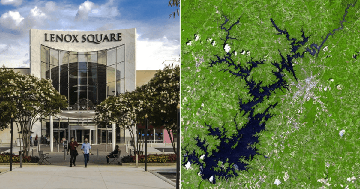 Is Lenox Square Mall cursed? Compared to Lake Lanier after security guard shooting